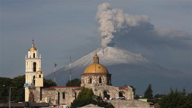Le volcan Popocatepetl