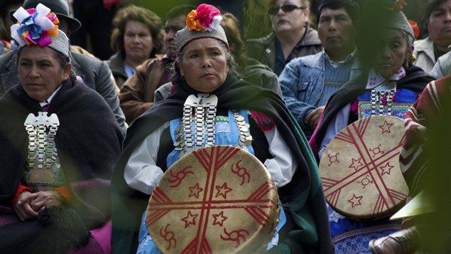 Indígenas Mapuches de Chile.
