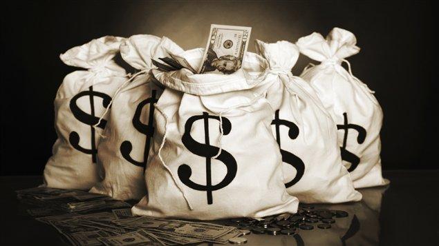 Sacs d'argent