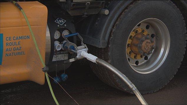 Ravitaillement au gaz naturel liquéfié