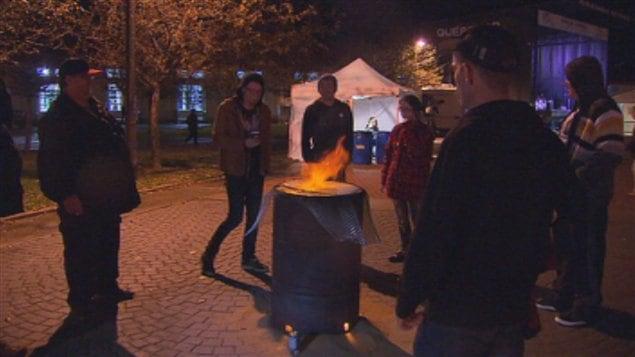 Des milliers de sympathisants ont participé à l'approche de l'hiver cette année dans 31 villes du Québec, à la 24e Nuit des sans-abri.
