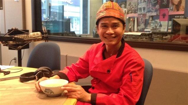 Le propriétaire de la cuisine de Bouddha, Sam Nettavong