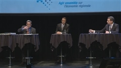 Les deux principaux candidats à la mairie de Québec se sont affronté dans un débat