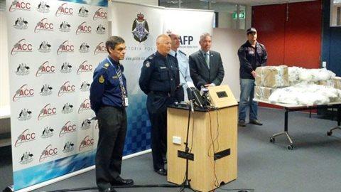 Australie: 3 Canadiens arrêtés pour de la cocaïne
