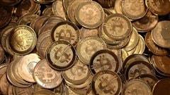 Pièces de bitcoins