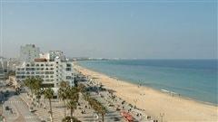 La station balnéaire de Sousse en Tunisie