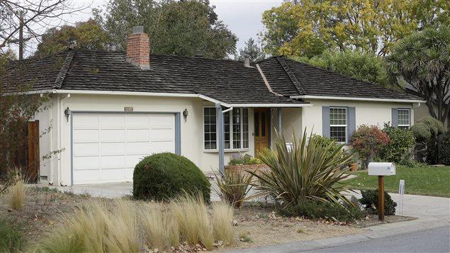 La maison d'enfance de Steve Jobs