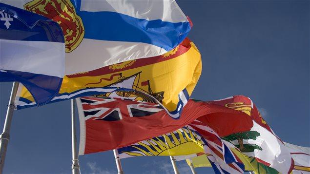 Drapeaux des provinces