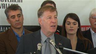 Marc Demers promet une administration intègre et transparente à Laval