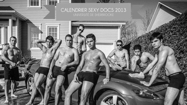Le calendrier sexy des étudiants en médecine de 2013.