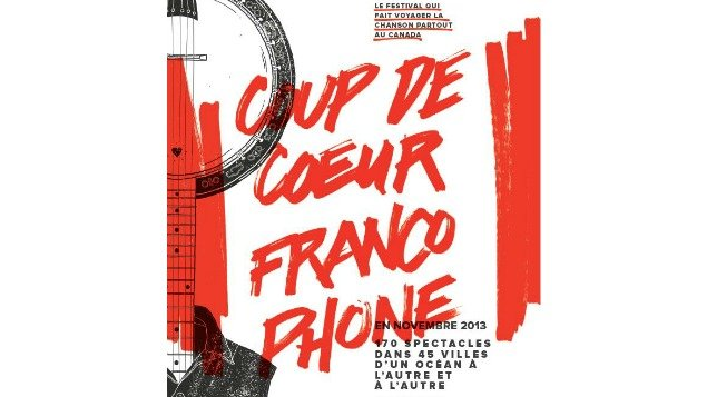 Coup de c ur francophone le festival qui fait voyager la chanson partout au canada - Coup de coeur in english ...