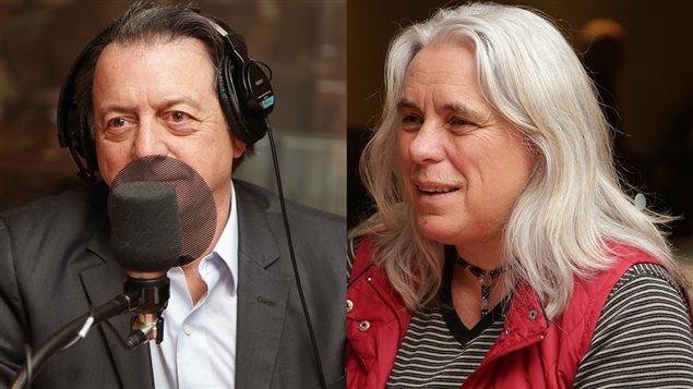 Jean-Luc Mongrain et Manon Massé