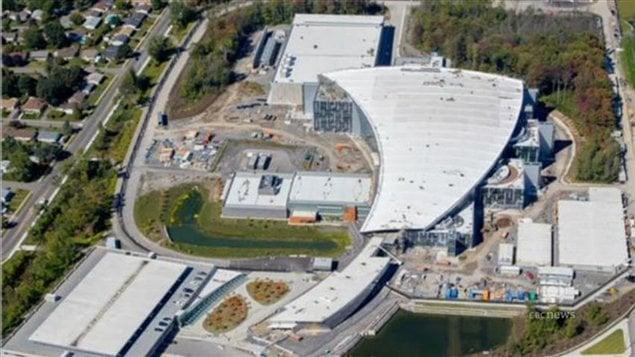 Le Centre de la sécurité des télécommunications du Canada à Ottawa