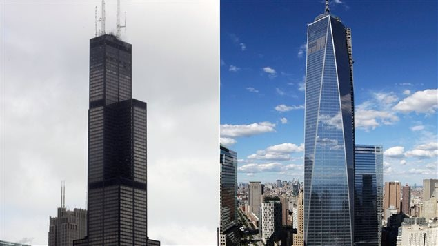 Le one world trade center plus haut gratte ciel am ricain one world trade - Plus haut gratte ciel ...