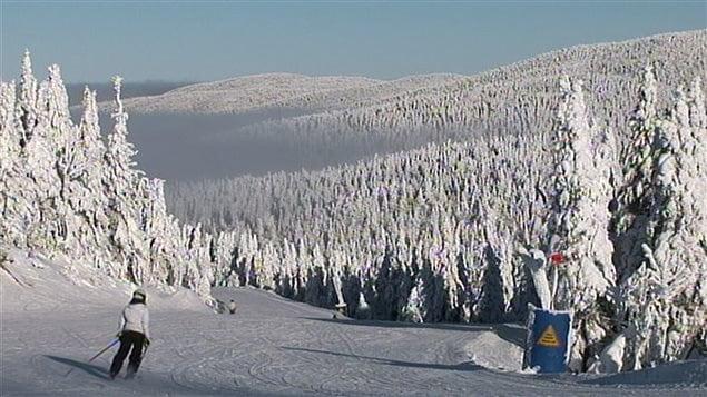 Skieurs à Mont-Tremblant