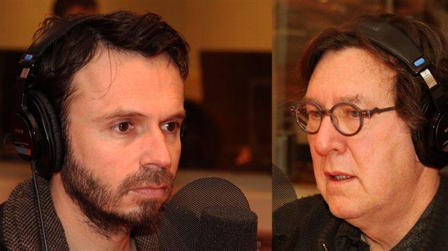 Sébastien Pilote et Gilles Renaud
