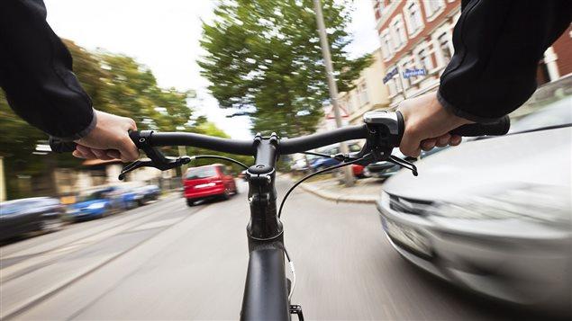La cohabitation vélo-auto
