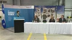Annonce de la ministre Marie Malavoy à Sept-Îles
