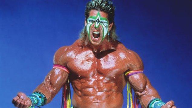 Le lutteur américain Ultimate Warrior