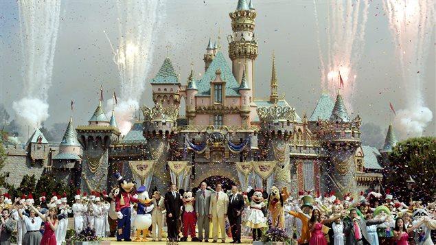 Cinquantième anniversaire de Disneyland en Californie