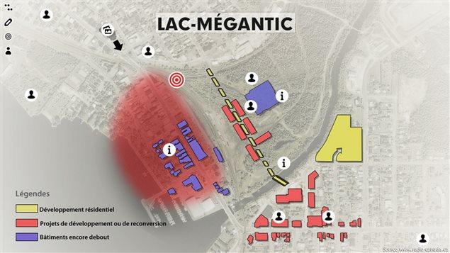 Lac-Mégantic : des choix déchirants à faire
