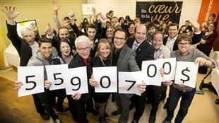 5 590 700 $ de plus dans les coffres de la Fondation du CHUS