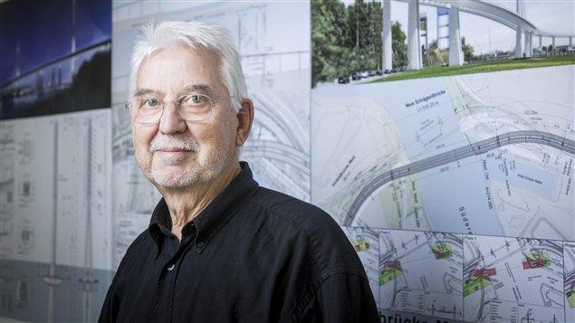 L'architecte danois Poul Ove Jensen.
