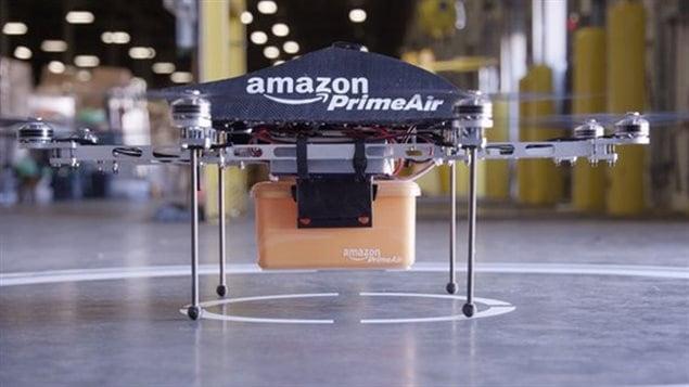 Le drone testé par Amazon
