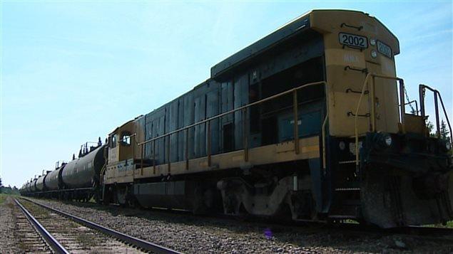 Locomotive de la MMA