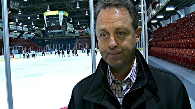 Alain Sear, propriétaire des Olympiques de Gatineau.