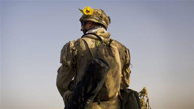 Un soldat canadien en Afghanistan (archives)