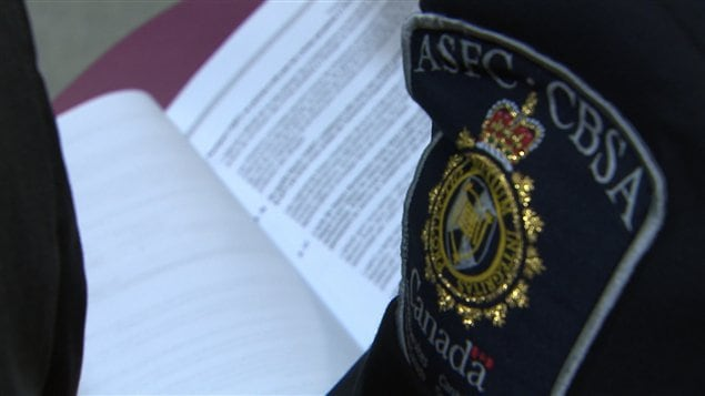 Agencia de Servicios Fronterizos de Canadá, ASFC.