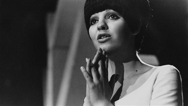 Michèle Richard dans les années 1960