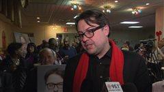 Le nouveau député de Viau, David Heurtel, a salué le travail de son prédécesseur, Emmanuel Dubourg.