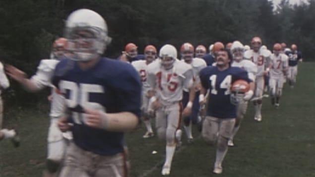 Les Patriotes de l'UQTR ont déjà eu une équipe de football (archives)