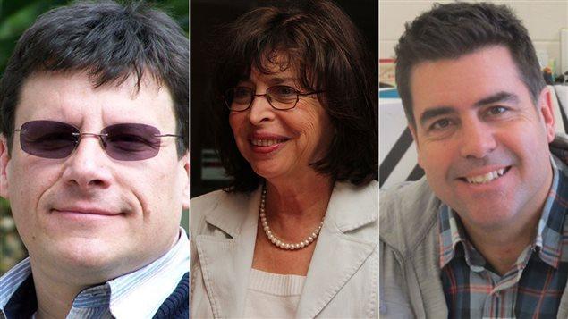 Pierre Poulin, Vania Jimenez et Gaétan Jean