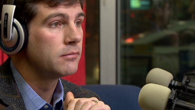 Le maire Don Iveson en entrevue à CBC