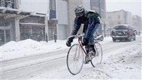 Le vélo sous zéro