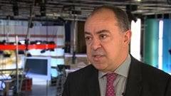 Le député Christian Dubé, porte-parole de la Coalition avenir Québec en matière de finances
