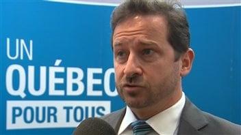 François Blanchet, ministre du Développement durable, de l'Environnement, de la Faune et des Parcs