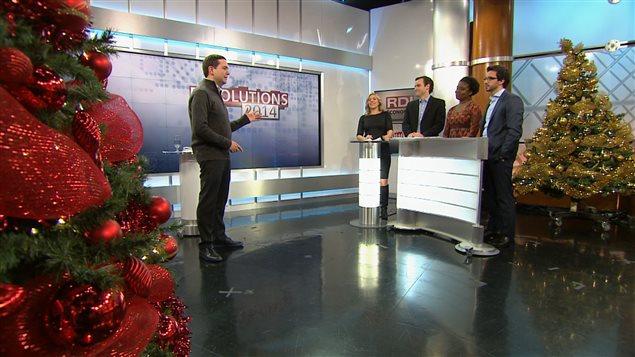 Équipe de «RDI économie », le réseau de l'information continue de Radio-Canada.