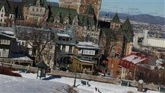 Vieux-Québec en hiver