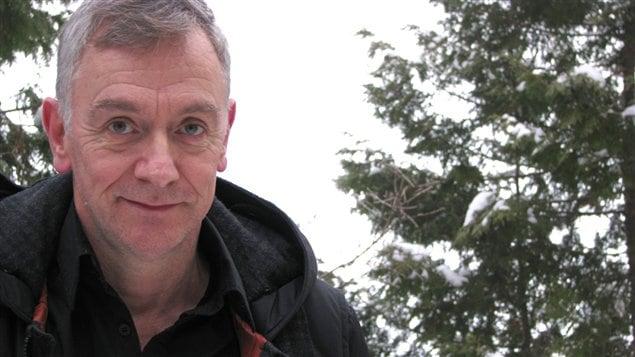 Le dramaturge et sc�nariste Michel Marc Bouchard