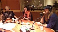 Nos invités calleurs. Radio-Canada/Mathieu Charlebois