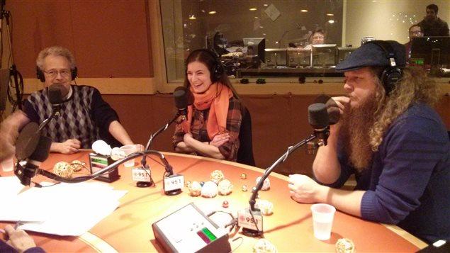 Les calleurs : Jean-François Berthiaum, Yaelle Azoulay et Pierre Chartrand