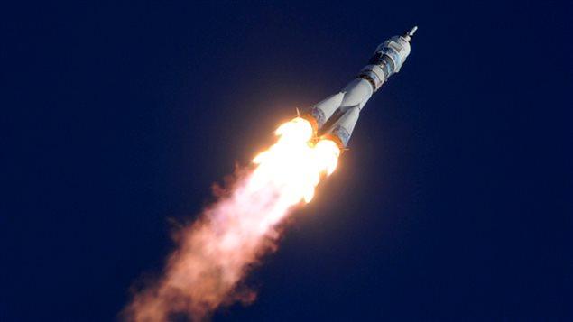 Une fusée Soyouz TMA-11M le 7 novembre dernier