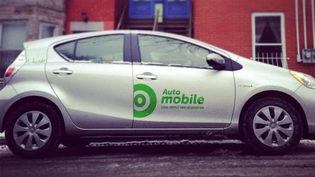 Une voiture du service Auto-Mobile