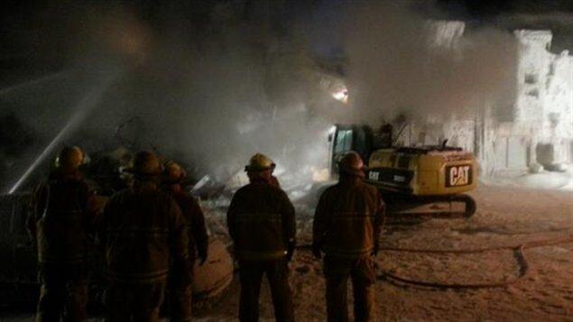 Incendie majeur à Donnacona : une dizaine de locataires à la rue
