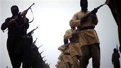 Des Combattants de l'État islamique en Irak et au Levant.