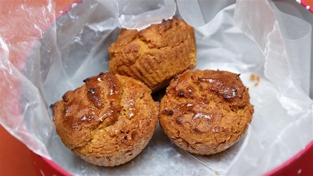 Les muffins sans gluten de Lesley Chesterman.